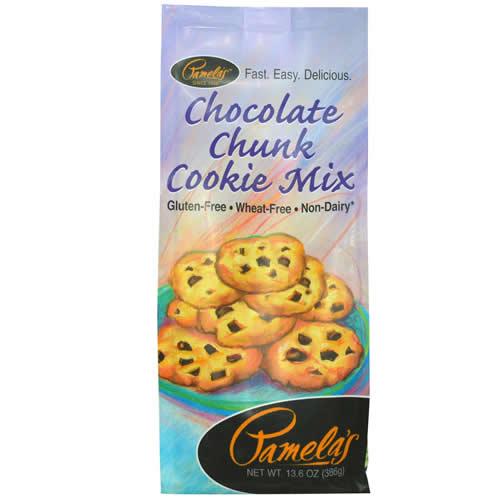 Pamelas Products Choc Chunk Cookie Mix Gluten Free ( 6x136 Oz)