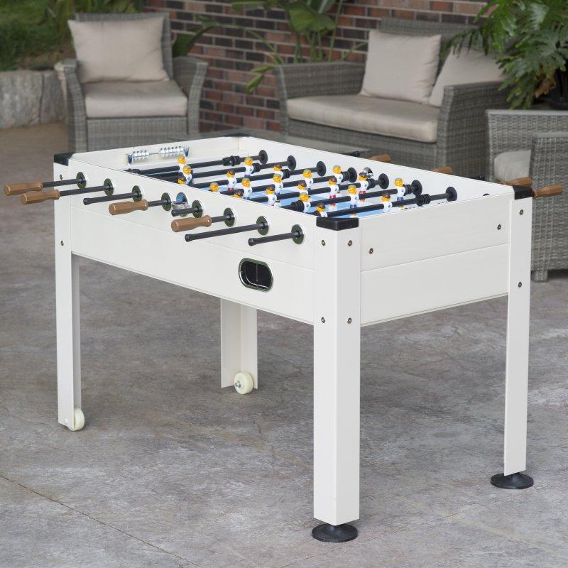 """Blue Sky 57"""" Outdoor Soccer Table-Beach Wood"""