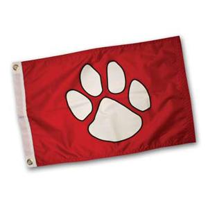 4100 Paw Print Flag