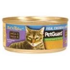 Pet Guard Cat Fish Chicken Liver (24x55 Oz)