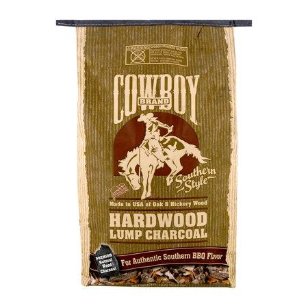 COWBOY 18 LB. OAK AND HICKORY LUMP CHARCOAL BAG