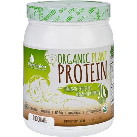 PlantFusion Plant Protein  Organic  Chocolate  1 lb