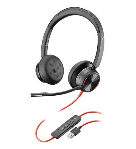BLACKWIRE 8225- USB-A DUAL EAR