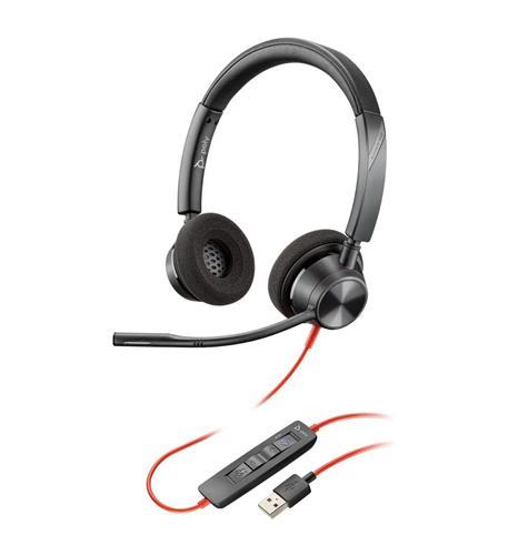 BLACKWIRE 3320 USB-A DUAL EAR