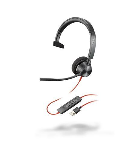 BLACKWIRE 3310 USB-A SINGLE EAR