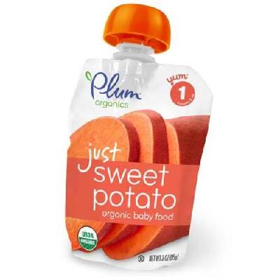 Plum Organics Jst Vegi SweetPotato (6x3OZ )