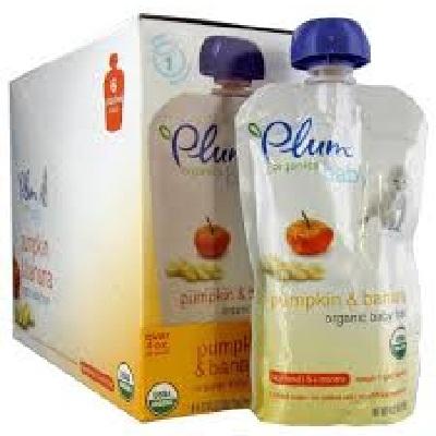 Plum Organics Pumpkin/Banana (6x4OZ )