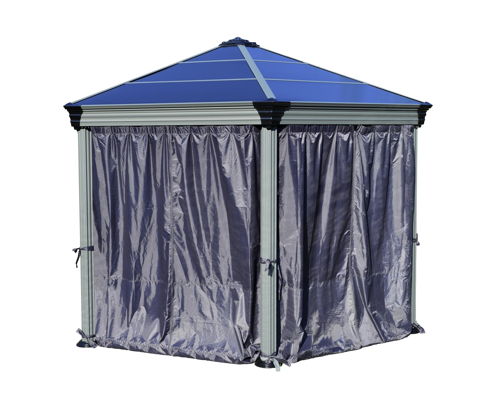 Roma Gazebo Curtain set - 6 Piece