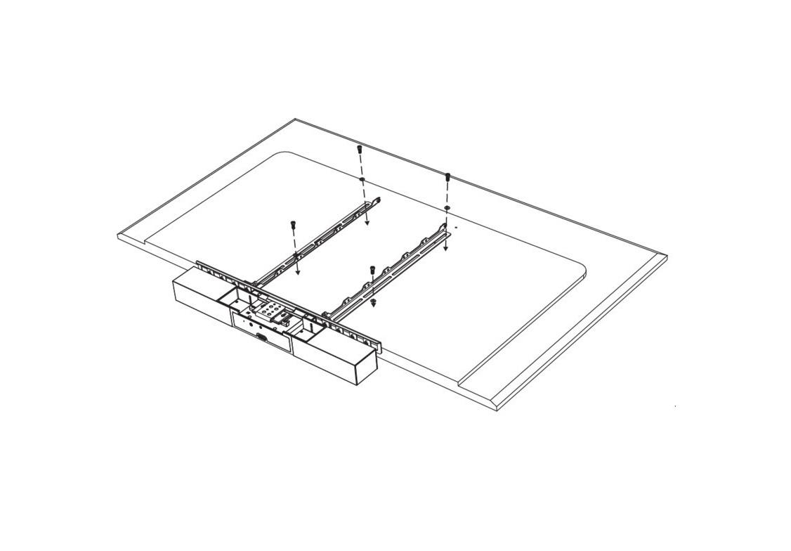 Polycom 7230-86040-001 Studio Display Mounting Kit