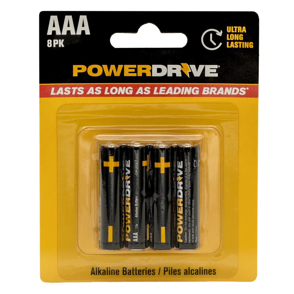 Power Drive AAA - 8PK 6PC PDQ