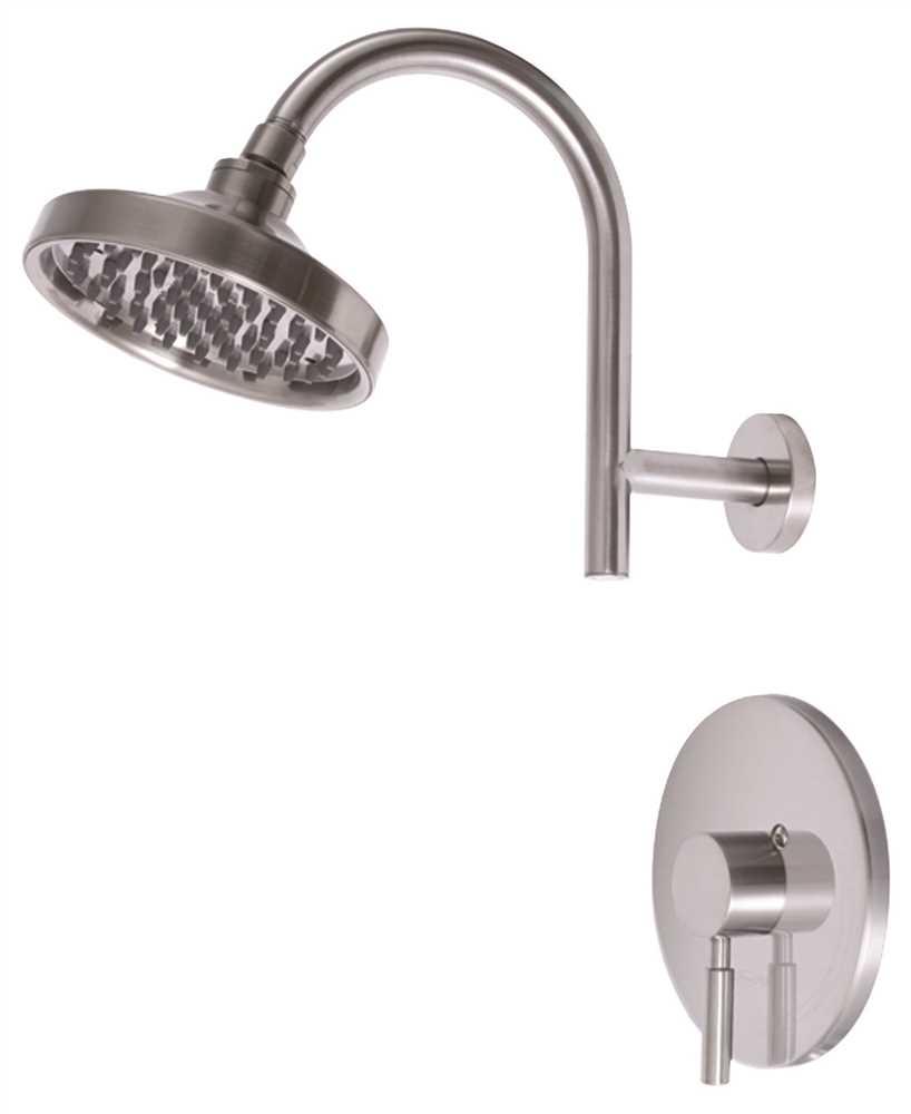 Premier 120092 Essen Single-Handle Shower Faucet, PVD Brushed Nickel