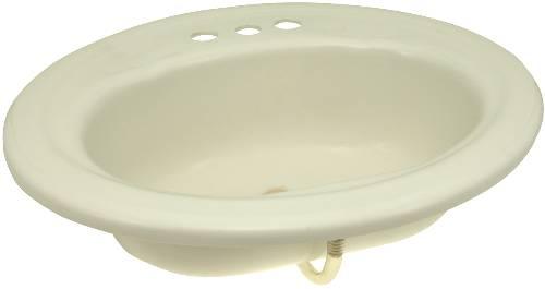 PREMIER BATHROOM SINK DROP IN ACRYLIC 20 IN. X17 IN. WHITE