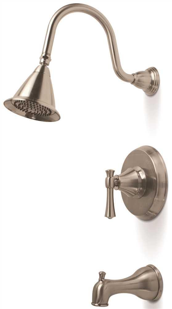 Torino Single-Handle Tub & Shower Faucet, Brushed Nickel