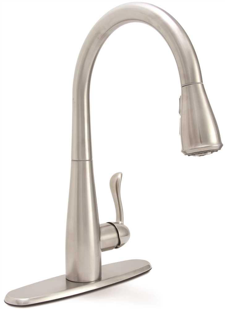Premier Sanibel Lead-Free Single-Handle Pull-Down Kitchen Faucet Stainless Steel