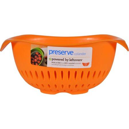 Preserve Small Colander Orange 15 qt