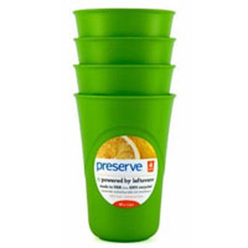 Preserve Reusable Cups Apple Green 16 Oz (1x4 Count)