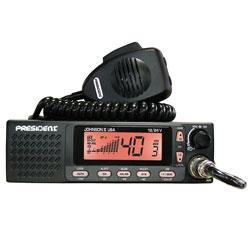 JOHNSON II  12/24 V CB RADIO 40 CH. AM