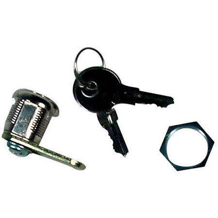 7/8IN STANDARD KEY CAM LOCK - 4 PACK