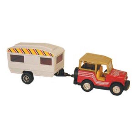 TOY SUV + TRAILER