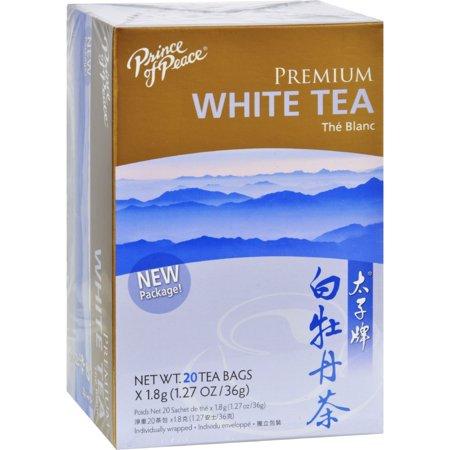Prince of Peace Natural Premium Peony White Tea (1x20 Tea Bags)