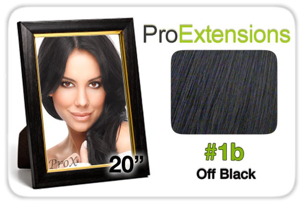 "Pro Lace 20"", #1b Off Black"