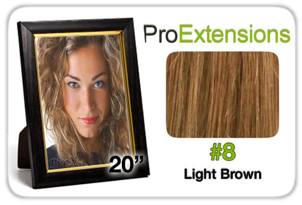 "Pro Lace 20"", #8 Light Brown"