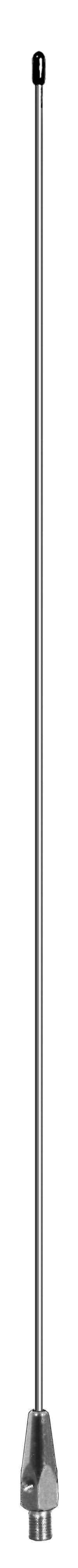 "102"" STEEL WHIP 3/8X24 THREAD CRIMP STYLE"