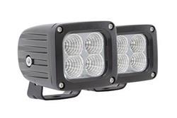 Pro Comp 1X1 SQUARE 10W LED PAIR SPOT PATTERN 76402P