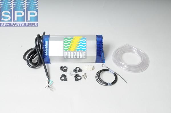 Ozonator, Prozone, UV, Outdoor Rated, Sealed Tube, 115V, wFiber Optic Kit, Blank Cord