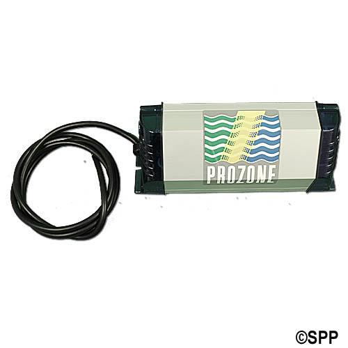 Ozonator, Prozone, UV, Outdoor Rated, Sealed Tube, 230V, wFiber Optic Kit, Blank Cord