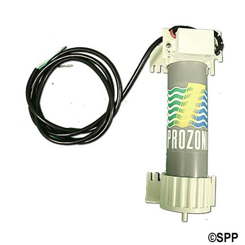 Ozonator, Prozone, UV, Sealed Tube, 230V, w/Fiber Optic Kit, 4 Pin Amp Plug