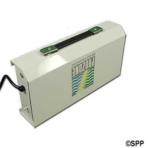 Ozonator, Prozone, Corona Hybrid, 115V, 24Hr w/Pump & Stone, 6' NEMA Cord
