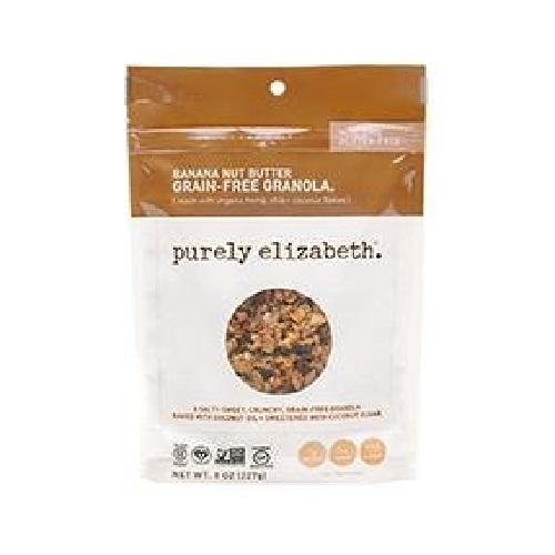 Purely Elizabeth Grain-Free & Gluten-Free Granola, Banana Nut Butter (6X8 OZ)