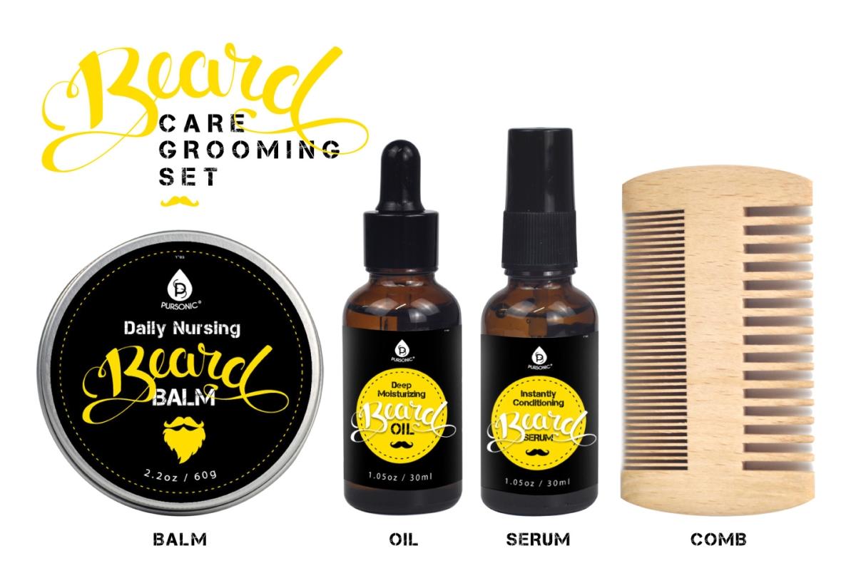 Beard Care Grooming Set