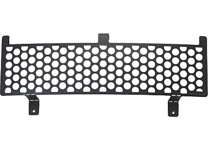 15-19 SILVERADO 2500/3500 - STAINLESS STEEL - BLACK PUNCH DESIGN BUMPER GRILLE