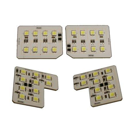 07-13 SILVERADO/SIERRA 1500/07-14 2500/3500 CREW CAB PREMIUM LED DOME LIGHT KIT