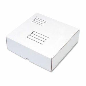 Ring Binder Mailer/Shipping Boxes, 12 x 12 1/4 x 3 7/8, White