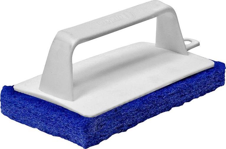 Quickie 207-3/72 Heavy Duty Scrubbing Pad, Black/White
