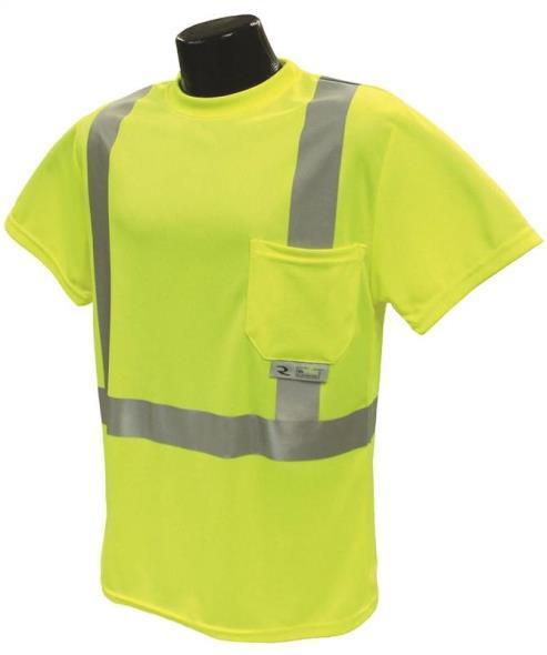 Radians ST11-2PGS-M Short Sleeve T-Shirt, Medium Unisex, 100% Wicking Polyester Mesh