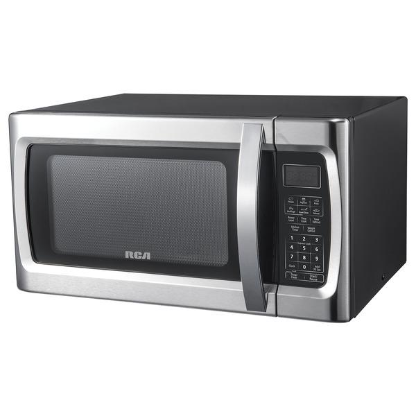 RCA RMW1178 1,000-Watt 1.1-Cubic-Foot Stainless Steel Countertop Microwave