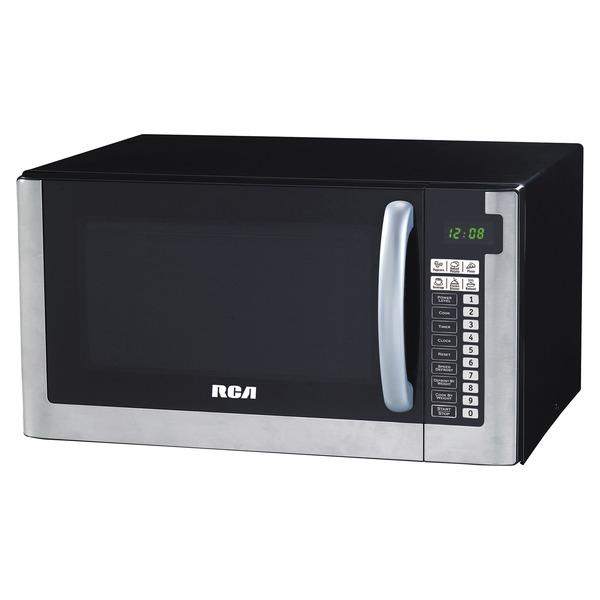 RCA RMW1603 1,000-Watt 1.6-Cubic-Foot Stainless Steel Countertop Microwave