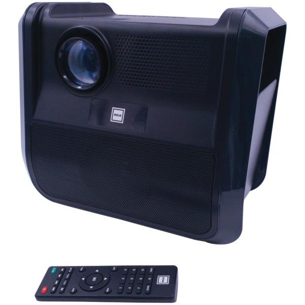 RCA RPJ060-BLACK/GRAPHITE Portable 480p Projector Entertainment System (Graphite)