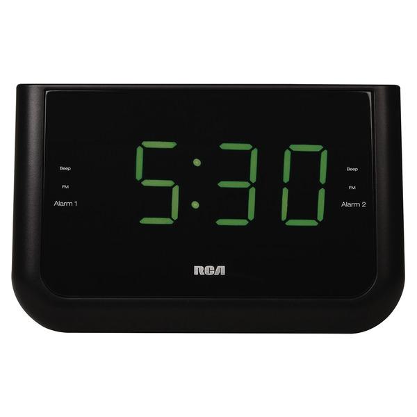 RCA RC442A Dual Wake USB Charging Clock Radio