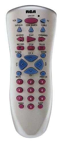 RCA RCU410 4 Device Backlit Universal Remote Control