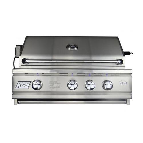 "30"" Cutlass Pro Grill, Blue LED W/Rear Burner-Propane"