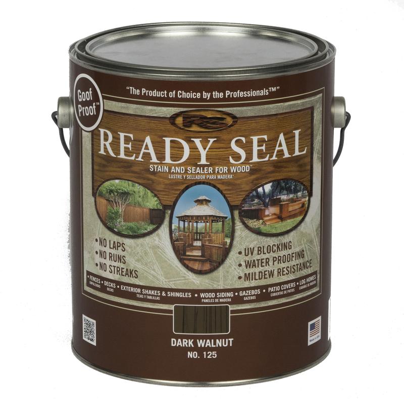 125 1G WALNUT READY SEAL STAIN