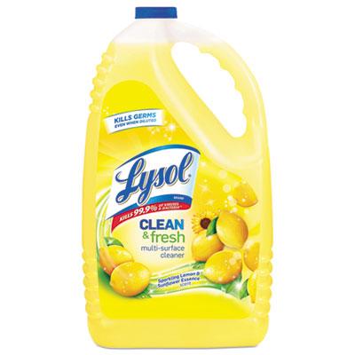Clean & Fresh MultiSurface Cleaner, Sparkling Lemon/Sunflower,144oz Bottle,4/CT