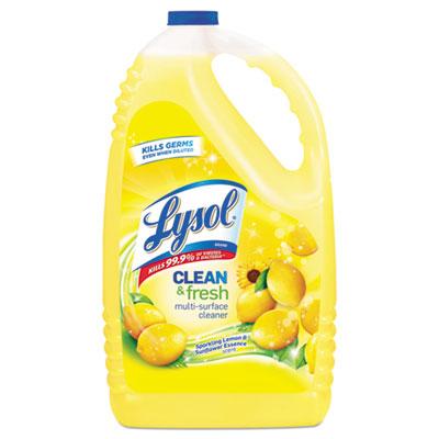 Clean & Fresh Multi-Surface Cleaner, Lemon, 144 oz Bottle