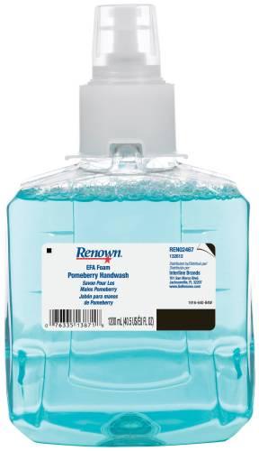 RENOWN� EFA FOAM HAND SOAP, 1,200ML, POMEBERRY