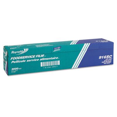 """PVC Film Roll w/Cutter Box, 24"""" x 2000 ft, Clear"""
